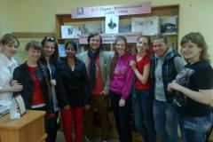 Представители Индии и Германии в нашей библиотеке.