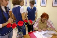 Встреча с поэтами Октябрьского района