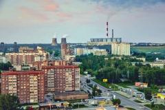 Улица Выборная в Новосибирске